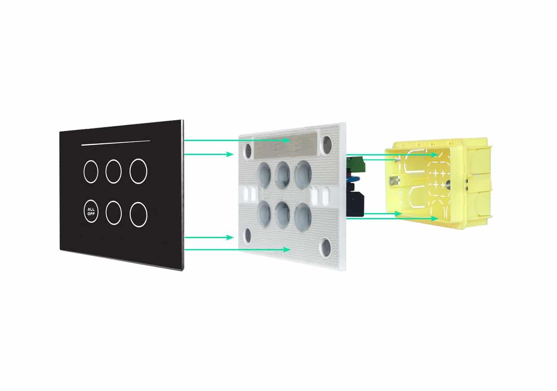 Geniel Touch | La soluzione domotica | installazione